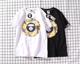 f1e0437de3d mens designer t shirts t shirt women short-sleeved spring and summer round  face letter seal printing casual short-sleeved T-shirt