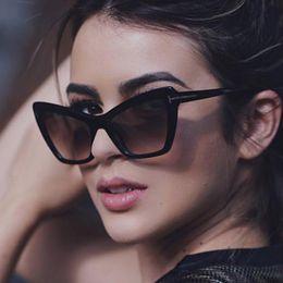 7529a3eb4e25 2019 European and American t-shaped classic cat eye sunglasses Cross-border  hot selling box sunglasses retro sunglasses