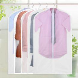 Suit Dust Protectors Australia - Washable Vacuum Bags For Storing Clothes Garment Suit Dust Cover Protector Wardrobe Storage Bag Cloth Hanging Garment Coat Dustproof New