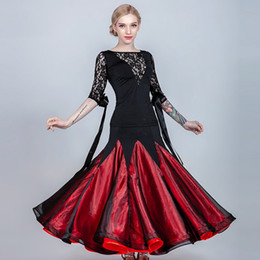 d7799eb57308 Flamenco Costumes Australia - ballroom skirt women flamenco skirt Spanish  dance dress Waltz dance wear women