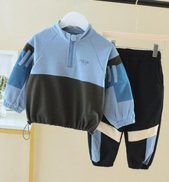 Foreign clothes online shopping - Two Kids Sports Suits for Spring and Autumn Girls in the New Foreign Baby s Children s Clothes of