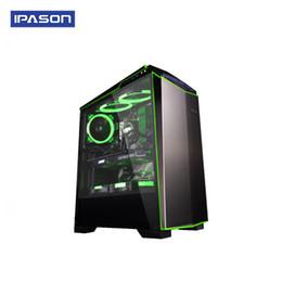 Wholesale IPASON AMD Ryzen 7 2700 Cpu 16 GB Ram MSI RTX 2070 Graphic Card Gaming Desktop Computer Windows 10 English