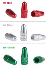 Alloy Dust Valve Caps Australia - 2019 New Hot Colorful Aluminium Alloy Car Cycling Bicycle Tire Wheel Presta Valve FV Cap MTB Bike French Valve Caps Anodized Dust Cover