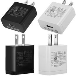 12v 5v 2a power adapter online shopping - 5V V A V A US Wall Charger QC Fast Quick Charging Power Adapter Chargers For Samsung S8 S9 S10 Note Iphone X Ipad Mp3 Pc
