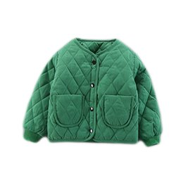 China Down Jacket Kids Thin Children Clothes Baby Cottons Infant Girl's Inner Bread Garment Children's Wear 2018 Winter cheap winter infant baby wear clothes suppliers