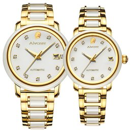 $enCountryForm.capitalKeyWord Australia - New Fashion Woman Watch couple Clock business Men watchs automatic mechanical calendar creative luxury personality men's watches