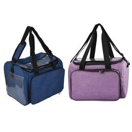 $enCountryForm.capitalKeyWord Australia - Crochet Hooks Thread Yarn Oxford Storage Bag 2019 DIY Knitting Tote Bag Sewing Kit Organizer Large Capacity Collection Holder