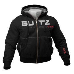 $enCountryForm.capitalKeyWord UK - Thin Black Sweatshirt Men Hooded For Men Fitness Bodybuilding Hoodies Sweatshirts Zipper Big Pocket Hoodie Men Long Sleeves T2190617