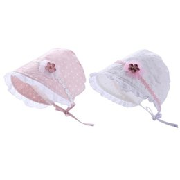 $enCountryForm.capitalKeyWord UK - Summer Cute Baby Princess Hat Toddler Cotton Basin Cap Girl Sun Hat Soft Cotton Baby Infant Summer Hats