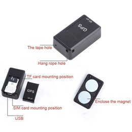 $enCountryForm.capitalKeyWord Australia - Mini Smart Car GPS Tracker Long Standby Magnetic SOS Tracker Locator Device Voice Recorder Real Time Portable with USB Cable