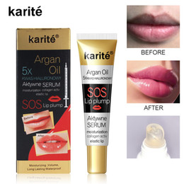 Instant Volumising Lip Plumper Moisturizing Reparieren reduzieren Lippen Feine Linien Erhellen Lip Color Collagen Lip Plumper Öl im Angebot