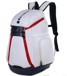 outdoor style mens backpack 2019 - New National Team Backpack The Olympic Mens Womens Designer Bags Teenager Black White Blue Outdoor Basketball Backpack 3
