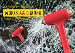 Auto Emergency Tools Australia - Mini Multifunctional Car Auto Safety Seatbelt Cutter Survival Kit Window Punch Breaker Hammer Tool for Rescue Disaster & Emergency Escape