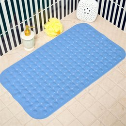 machine suction cups NZ - Environmentally friendly and tasteless bathroom mat 35*70cm PVC belt suction cup hotel bathroom massage foot pad