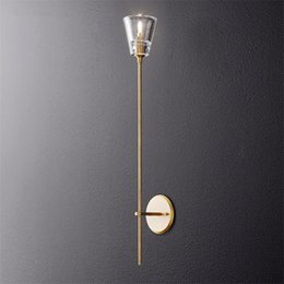 $enCountryForm.capitalKeyWord Australia - Modern Long Pole Wall Lamps Bedroom Bedside Living Room Wall Lighting Corridor Bedroom Decor Lighting Candle Wall Sconce lamps