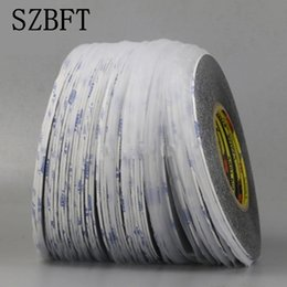 Double Sided Tape Lcd NZ - 1mm *50m Super Slim & Thin Black Double Sided Adhesive Tape for Mobile Phone Touch Screen LCD Display Glass