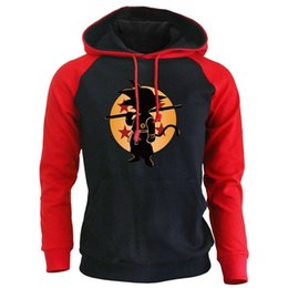 dragon ball z novelties Australia - Dragon Ball Z Anime Hoodies Male 2018 Fashion Brand Clothing Super Saiyan Sweatshirts Harajuku Men's Sportswear Hoody Sweatshirt Y191111