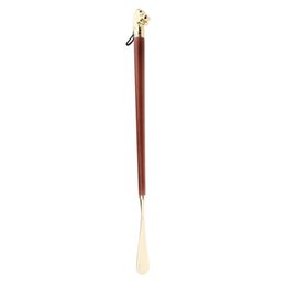 Professional Lion Head Long Handled Shoehorn Shoe Horn Spoon Shoe Lifter 58cm Accessories