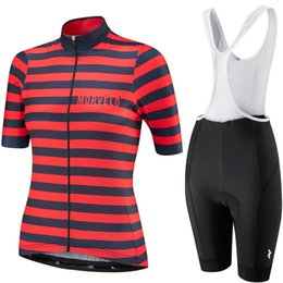 $enCountryForm.capitalKeyWord UK - 2019 Morvelo woman short sleeve Cycling Clothing Sets Racing Bike Clothing Kit Mtb Bicycle Clothes Suits Maillot Ropa Ciclismo