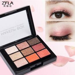 $enCountryForm.capitalKeyWord Australia - NEW Brand Warm earth colors eyeshadow pallete 9 color eye shadow nude eyeshadow Natural Naked Nudes Eye Colour Palette 0051