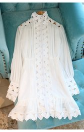 2021 Neue Design Frauen Rollkragenlaterne Stil Langarm Royal Retro Slim Taille Aushöhlen Patchwork Mermaid Kleid Vestidos S M L im Angebot