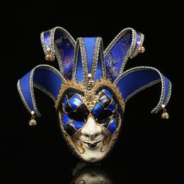 $enCountryForm.capitalKeyWord NZ - Halloween Innovative Clown Cosplay Mask European American Theme Party Festival Costumes Adults Halloween Clown Costume Accessories