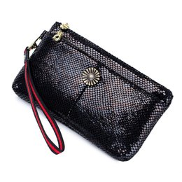 $enCountryForm.capitalKeyWord UK - Charm2019 Ma'am Take Tide Genuine Leather Double-deck Zipper Will Capacity Hand Carry Mobile Phone Buy Menu Package Personality