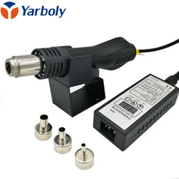 $enCountryForm.capitalKeyWord Australia - Yarboly 8858 Portable Heat Hot Air Gun BGA Rework Solder Station Better GJ 8018LCD +3 BGA Nozzles