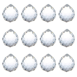 $enCountryForm.capitalKeyWord UK - 40mm Crystal Ball Prism crystal glass ball chandelier Decorating Hanging Faceted Prism Balls beads Wedding Home decor
