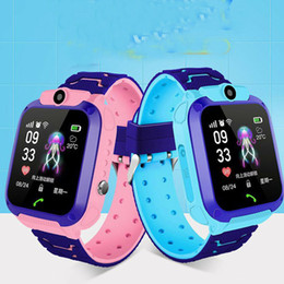 $enCountryForm.capitalKeyWord Australia - Waterproof Kids Smart Watch Anti-lost Safe Tracker SOS Call For Android iOS