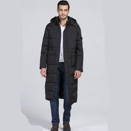 Wholesale outer coat long for sale - Group buy MRMT Brand Winter Long Cotton Suit Men s Jackets Thick Warm Overcoat for Male Hooded Casual Cotton Coat Outer Wear Clothing