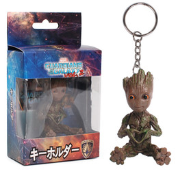 $enCountryForm.capitalKeyWord Australia - 2019 Marvel Avengers Hand Galaxy Guard Groot Small Tree People Keychain Doll Toys Free DHL 820 X30