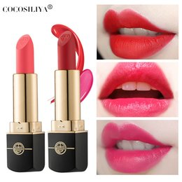 high fashion lips UK - 2020 high-quality ladies lipstick fashion charm the best long-lasting color lip gloss lipstick for daily dating 7IXK