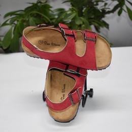 $enCountryForm.capitalKeyWord Canada - Tree Wrasse Kids Sandal 2018 New Summer Children Boys And Girls Cork Shoes Leisure Word Drag Tide Beach Double Ring Sandals MX190727
