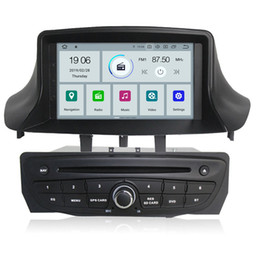 "Car Multimedia Player System Australia - COIKA 7"" Android 9.0 System Quad Core Car DVD Player For Renault Megane 2009-2016 Multimedia WIFI OBD DVR SWC Carplay 2+16G RAM 4G"