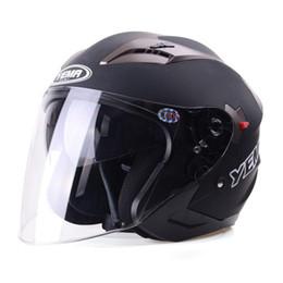 $enCountryForm.capitalKeyWord Australia - Free Shipping Motorcycle Helmets Electric Bicycle Helmet Open Face Dual Lens Visors Men Women Summer Scooter Motorbike Moto Bike Helmet