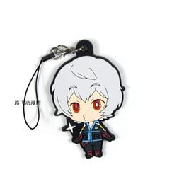 $enCountryForm.capitalKeyWord UK - Anime Keychain World Trigger Key Ring Kuga Yuma Jin Yuichi Key Chains Jewelry Porte Clef Gift for Man Bag Pendant Figure Charms