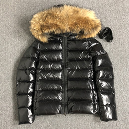 Wholesale womens winter parkas for sale - Group buy Womens Down jacket fur hood Sashes winter Parkas White duck down coats Raccoon Fur Black women Down jacket bomber jacket S XL UK S L