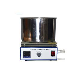 $enCountryForm.capitalKeyWord Australia - Magnetic Stirrer Laboratory Digital Constant Temperature Oil Bath Stirring Instrument Industrial Magnet Lab Stirrer Mixer DF-101T-10L