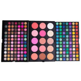 Popular Eyeshadow Australia - 183 colors eyeshadow combination disc multi-color makeup palette professional beauty makeup European and American popular manufacturers