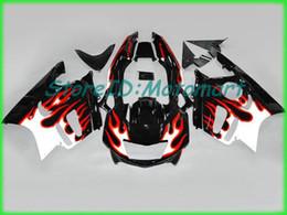 $enCountryForm.capitalKeyWord UK - Motorcycle Fairing kit for HONDA CBR600F3 97 98 CBR 600 F3 1997 1998 ABS Red silver black Fairings set+gifts HH24