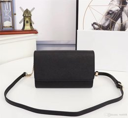 wholes bags NZ - 2019 explosion shoulder bag, the whole body is made of cross-grain leather, with adjustable long shoulder strap, the lining is dedicated, su