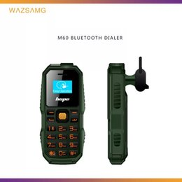 Radio Cards Australia - Bar phone small unlocked phones FM sim card stand by 0.66inch Bm60 cell phone with 2G network FM radio called bluetooth