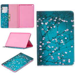 Butterfly case for taBlet online shopping - Cartoon Wallet Leather Case For Ipad Mini Mini5 Tablet Bear Teddy Butterfly Owl Mandala Flower Cherry Card Slot Stand Skin Cover