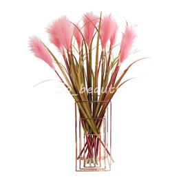 $enCountryForm.capitalKeyWord Australia - Artificial Reed Grass Stem 86cm Length Home Garden Decor Party Fake Flower Wedding Decorations Multi Colors