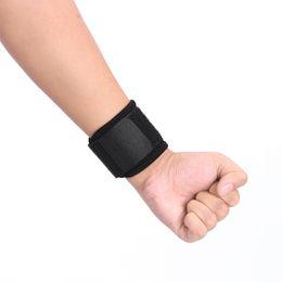 $enCountryForm.capitalKeyWord Australia - Adjustable Elastic Wrist Support Brace Weight Lifting Wrist Bandage Protect Guard Wrapping Strap Gym Fitness Hand Wristband