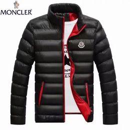 ventas de mezcla 2019 de los hombres de invierno por la chaqueta de diseño de lujo hombre ropa de los hombres de alta calidad de Down Color Envío gratuito vestir exteriores de gran tamaño en venta