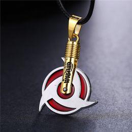$enCountryForm.capitalKeyWord Australia - MOSU Hot Anime Naruto Necklace Uchiha Itachi Mangekyou Sharingan Pendant Cosplay Toy Jewelry