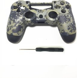 Ps4 Housing Australia - Hot sale PS4 Custom Camouflage Controller Cover Cases Camo Replacement Housing Front Back Shell For Sony Playstation 4 Gamepad free shipping