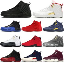 $enCountryForm.capitalKeyWord Australia - Hot Game Royal FIBA 12 12s Basketball Men shoes Winterized Gym red Bulls black Gamma blue designer Athletic mens trainers sports sneakers
